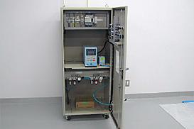 航空灯火用乾式漏洩検査装置内部