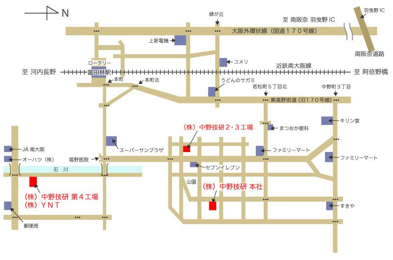 中野技研map